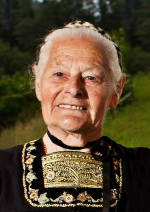 Portrait von Kaufmann Frieda